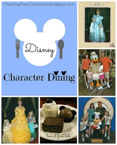 Choosing the Perfect Disney Character Meal for Your Family!