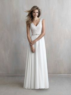Wedding Dress out of Madison James This gown is equally at home in a garden ceremony or a boho-chic destination wedding. Wedding Dress Pictures, Wedding Dress Styles, Dream Wedding Dresses, Designer Wedding Dresses, Wedding Gowns, Grecian Wedding Dresses, Wedding Dress Abroad, Boho Wedding, Boho Bride