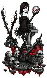 The Night Scythe by DemiseMAN.deviantart.com on @deviantART