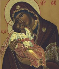 What Can I See in the Tenderness Icon of the Mother of God?    Learn more: http://catalogueofstelisabethconvent.blogspot.com.by/2017/10/what-can-i-see-in-tenderness-icon-of.html    #CatalogOfGoodDeeds #OrthodoxBlog #Iconography #OrthodoxIcon