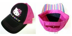 Hello Kitty Youth Adjustable Cap, Licensed [Toy] by Cartoonfansclub, HELLO KITTY to buy just click on amazon here                    http://www.amazon.ca/dp/B00AB3SU08/ref=cm_sw_r_pi_dp_0IIusb0ECERZR