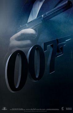 Teaser poster art: Skyfall