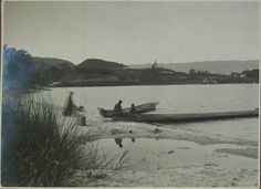 Tobameer in Noord Sumatra 1923.