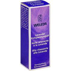 WELEDA Lavendel Entspannungsöl:   Packungsinhalt: 10 ml Öl PZN: 03427733 Hersteller: WELEDA AG Preis: 1,33 EUR inkl. 19 % MwSt. zzgl.…
