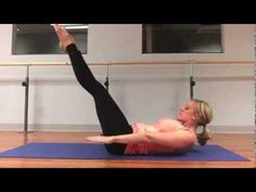28 Days of Pilates: Day #15 {abs} - YouTube