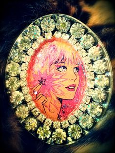 Diamante Jem & the Holograms Cocktail Ring