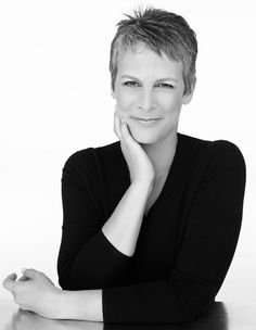 American actress and author Jamie Lee Curtis, daughter of actor Tony Curtis and actress Janet Leigh