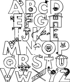 Trains Alphabet With In Love Pictures