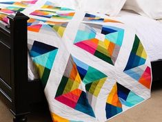 Up, up and away! Soar to new heights of style with the vibrant New Colors Kite Flight Quilt Kit from Kona Cotton. You'll receive a pattern and radiant pre-cuts of high-quality Kona cotton. Use this...