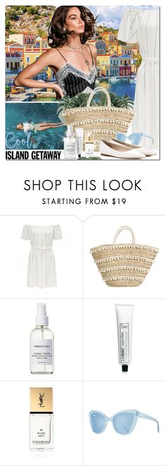 """Untitled #1680"" by elena-777s ❤ liked on Polyvore featuring Wildfox, French Girl, L:A Bruket, Yves Saint Laurent, Prism, Jimmy Choo, 2017, islandgetaway and springsummer2017"