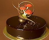 World Chocolate Masters 2013 - All recipes mentioned here were made during previous Finals Chocolate Glaze, Love Chocolate, Brownie Cake, Brownies, Entremet Recipe, English Food, Food Cakes, Allrecipes, Food Art
