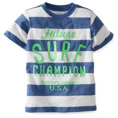 Slub Jersey Surf Champion Tee