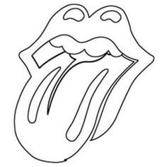 The Rolling Stones Logo Labios Taza Mick Jagger Keith Richards Ronnie Wood