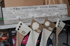Furniture Fix: The Stockings Were Hung...