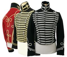 Hussars Pelise (via 19th Century Tailoring Napoleonic, uniforms, Artillery, 95th Rifles)