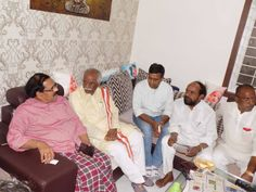 Visited Mr. Alok Madasani's family at his Residence, he was shot at USA recently. I assured them that we'll help them in the form of medication and future assistance from Govt. of India. along with Sri R Krishnaiah ji, MLA at Hyderabad.