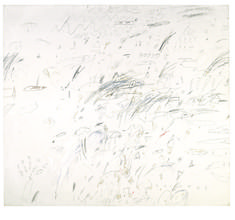 Cy Twombly | Study for Presence of a Myth (1959) | Artsy
