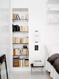 This breezy and all-white two-room apartment is the latest project sent over to Desire to Inspi...