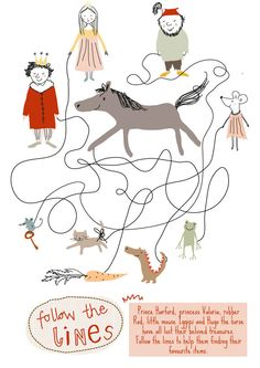 editorial illustration by little cube studio for children's design, via Behance