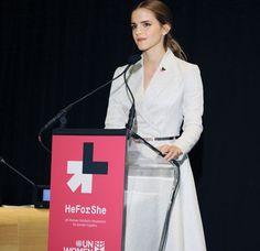 Emma Watson, v roli vyslankyní dobré vůle UN Women, propaguje kampaň HeForShe  Foto: UN Women, Flicker