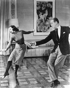 Cyd Charisse and Fred Astaire in ''Silk Stockings''  1957