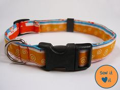 Here's an adjustable dog collar pattern you can sew for your pet. Make the prettiest collar for your dog without spending any money.