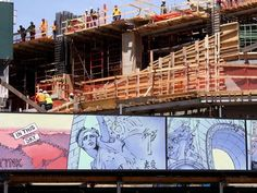 Extell Spiffs Up Lower East Side Construction Site With Murals
