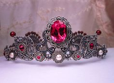 Gorgeous Tiara for the Bride with Royal Renaissance Style!  From Etsy seller After Dark