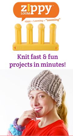 Make fast & fun accessories in just minutes on your Zippy Loom #zooming