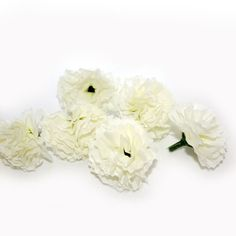 White baby carnations 25/$6