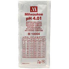 Milwaukee Buffer Solution Ph 4.01 - Lot Of 3 ( M10004 )