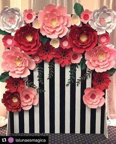 #mulpix  #Repost @lalunaesmagica with @repostapp ・・・ Nuestras Flores de papel…