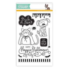Simon Says Clear Stamps TRICK OR TREAT sss101444 at Simon Says STAMP!