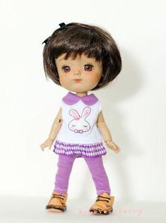 pukifee #L012 Polka Dot Dress for Lati Yellow