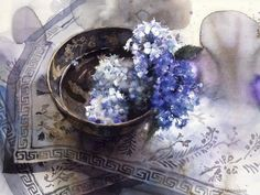 Floral watercolor by artist Yuko Nagayama Paintings