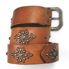 native american studded belts - Google Search