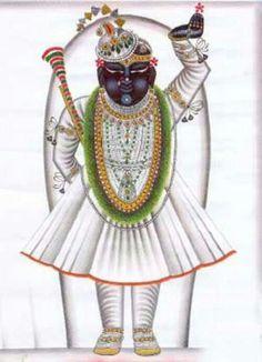 Shreenathji=White
