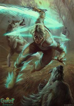 Ciri Dashing is an official concept artwork for The Witcher Wild Hunt, the video game created by CD PROJEKT RED and GWENT, the Witcher card game. The ar Mais Ciri Witcher, Witcher Art, Geralt And Ciri, The Witcher Game, Witcher 3 Wild Hunt, Fantasy Rpg, Fantasy Artwork, Witcher Wallpaper, Yennefer Of Vengerberg
