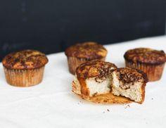 Cinnamon Bun Muffins {using almond & coconut flour}