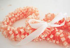 DIY Hawaiian Ribbon Lei  