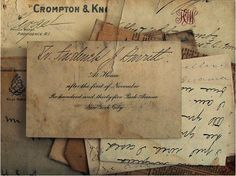 vintage letters - I have love letters between written by the girl and boy, dated back to Quite Proper Old Paper, Pen And Paper, Vintage Paper, Vintage Accessoires, Old Letters, You've Got Mail, Going Postal, Handwritten Letters, Cursive
