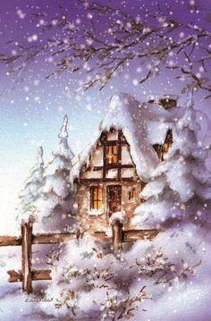 axel wolf paint winter - Google keresés