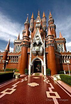 Castle, Taman Mini Indonesia Indah, Jakarta, Indonesia. https://ExploreTraveler.com