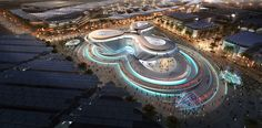 BIG, Foster + Partners, and Grimshaw Architects unveil designs for Dubai's 2020 Expo