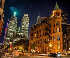Gooderham Flatiron Building in Toronto Flatiron Building, Empire State Building, Ontario, Big Ben, Toronto, The Past, Canada, World, City