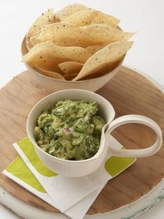 Chunky Guacamole : For any party or get-together, you can't go wrong with this basic guacamole.