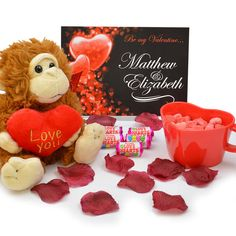 Personalised Be My Valentine Gift Box The Valentine Gift box is the perfect romantic gift for all ages. This fun box is full of cute and romantic gifts to warm the heart of your love.. The red box comes with a personalised be my valentin http://www.MightGet.com/january-2017-13/personalised-be-my-valentine-gift-box.asp