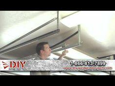 ▶ How To Measure Garage Door Extension Springs - YouTube