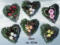 T14 37 Totensonntag Grabschmuck Allerheiligen Herz von Blumen-Sprockhoff auf DaWanda.com