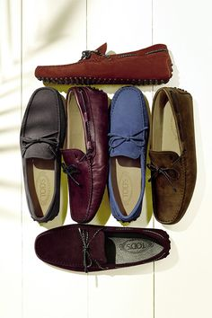 Nothing like a pair of Tod's loafers to liven up any Dad's wardrobe this year!